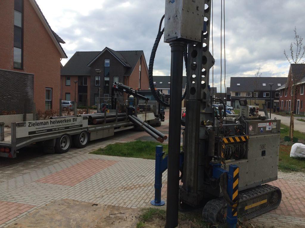 Onderheid terras aanleggen diensten