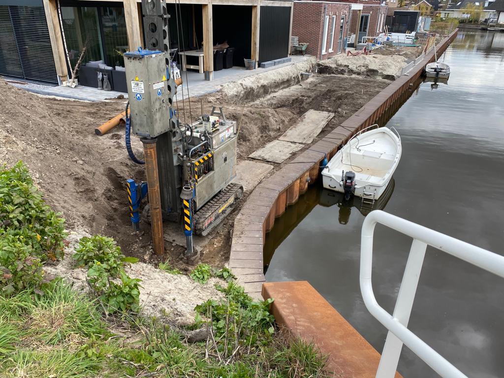 Heiwerk betonpalen